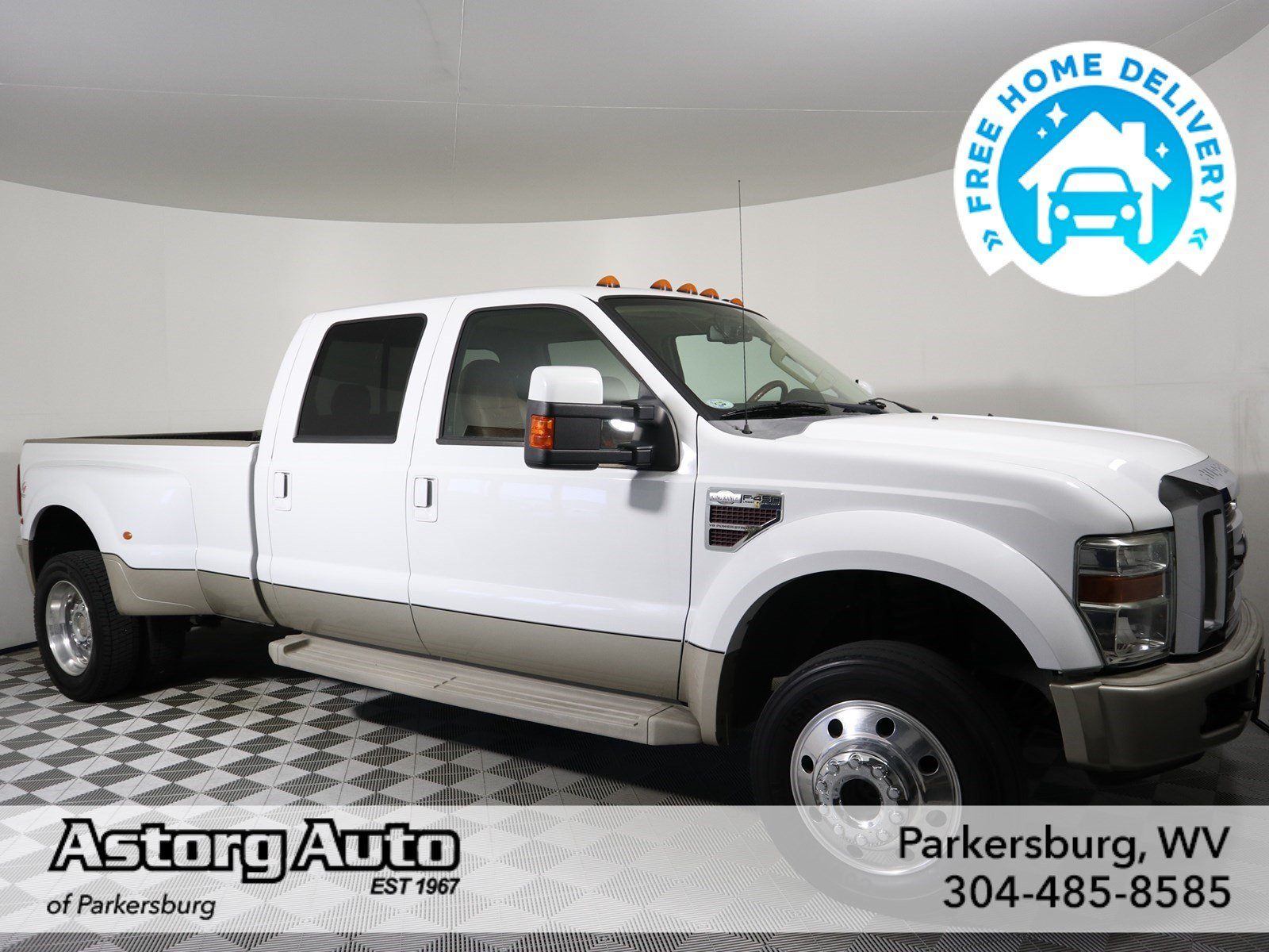 Pre-Owned 2008 Ford Super Duty F-450 DRW