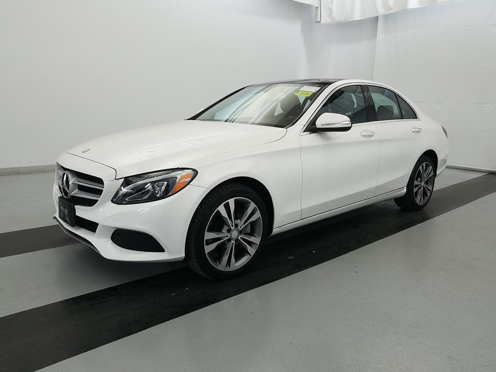 Pre Owned 2015 Mercedes Benz C Class C 300 4dr Car in Parkersburg