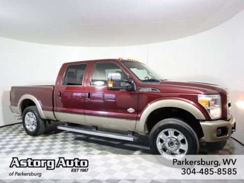 Pre-Owned 2012 Ford Super Duty F-250 SRW King Ranch