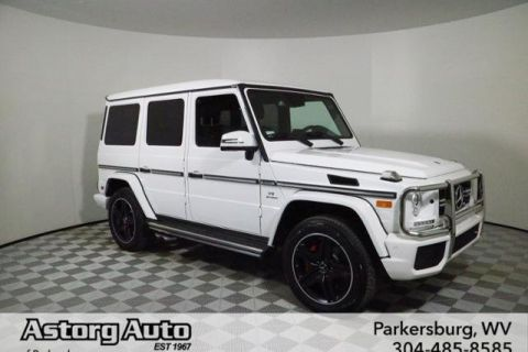 Pre-Owned 2018 Mercedes-Benz G-Class AMG® G 63