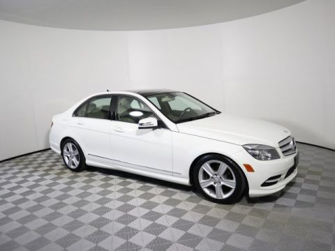 Pre-Owned 2011 Mercedes-Benz C-Class C 300 Sport